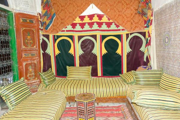 Marrokanische Sitzecke