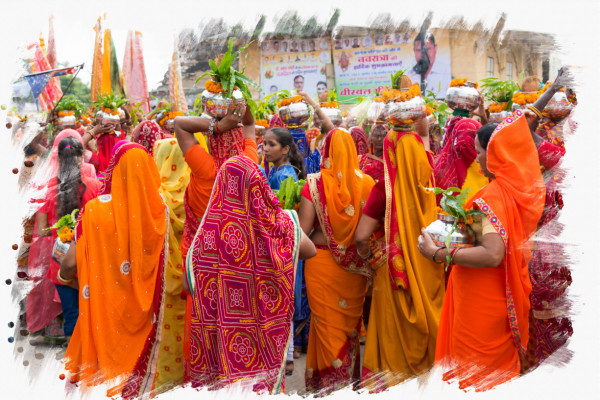 Indische Zeremonie