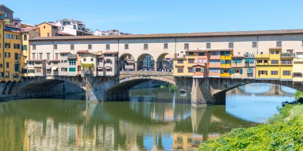 Panoramabild - Ponte Vecchio in Florenz