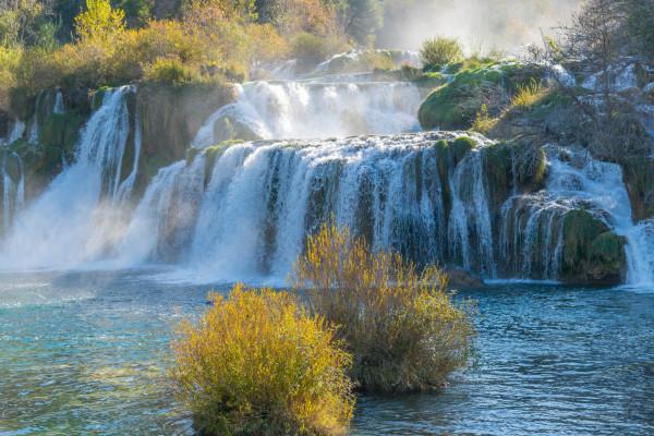 Wasserfälle von Krka