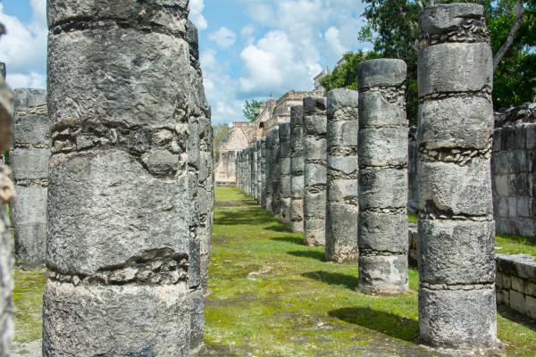 Chichen Itza - 1000 Säulen