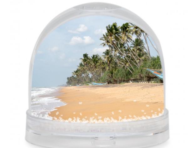Fotokugel - Strand auf Sri Lanka