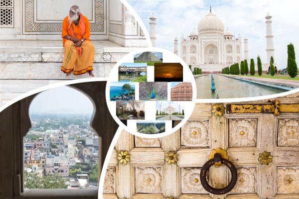 Bilderserie Indien