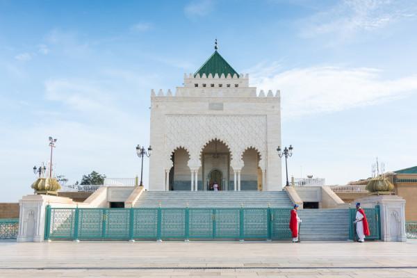 Rabat - Mausoleum von Mohammad V