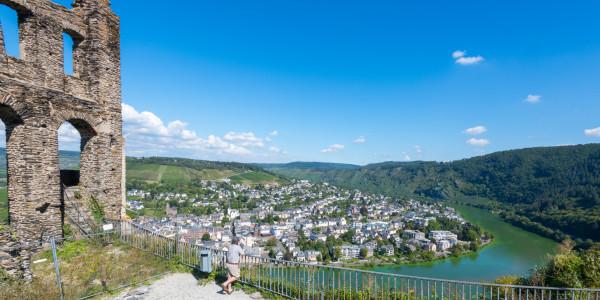 Panoramabild - Moselschleife bei Traben Trarbach