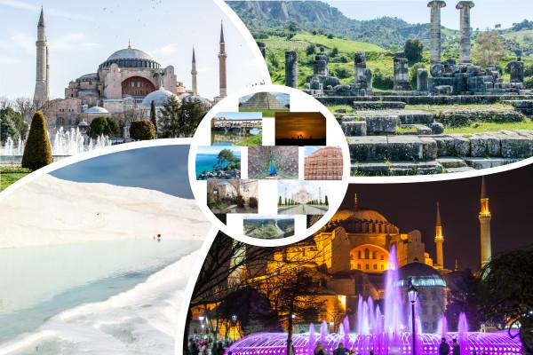 Bilderserie Türkeirundreise Istanbul Antalya