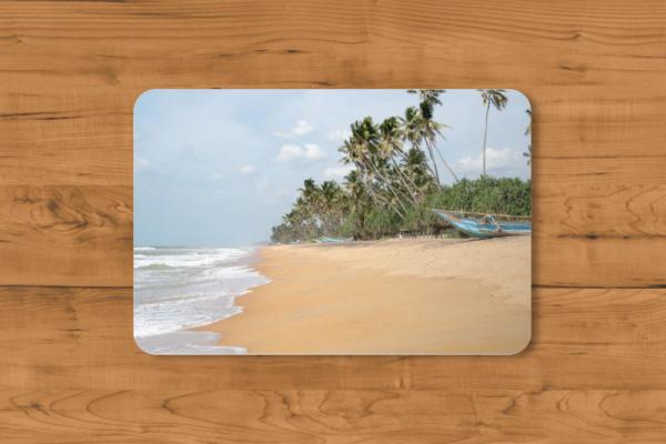 Fotomousepad - Strand auf Sri Lanka