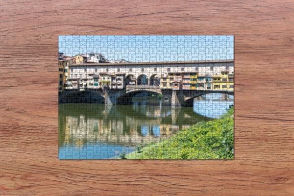 Fotopuzzle - Ponte Vecchio in Florenz