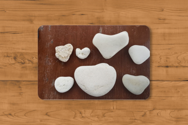 Fotomousepad - Herzen aus Stein