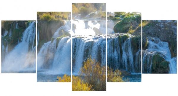 Mehrteiler - Wasserfälle von Krka