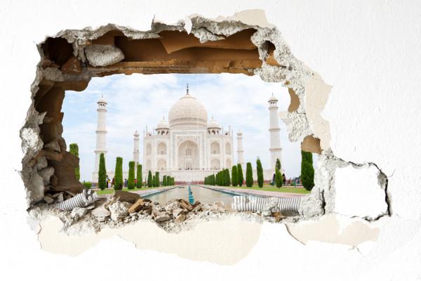 Wandtattoo - Taj Mahal
