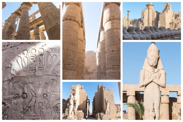 Luxor Karnak-Tempel