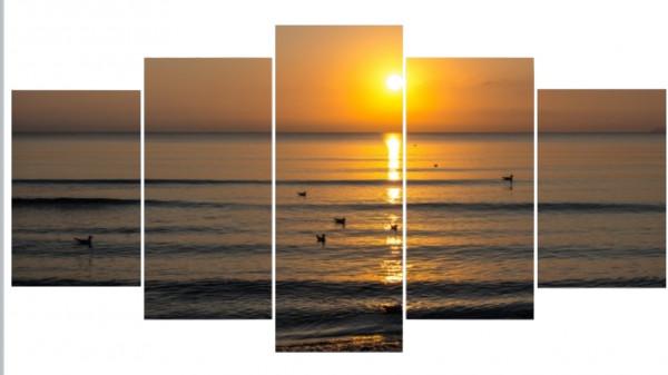 Mehrteiler - Sonnenaufgang Juliusruh