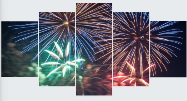 Mehrteiler - Japanisches Feuerwerk