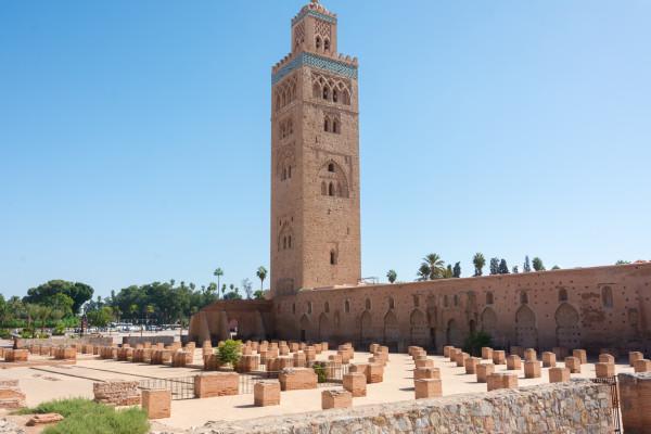 Marrakesch - Koutoubia-Moschee