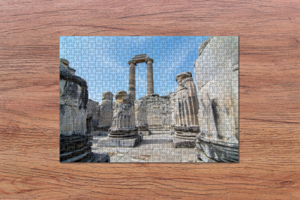 Fotopuzzle - Apollontempel in Didlim