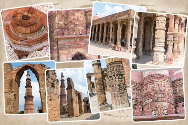 Collage Qutab Minar