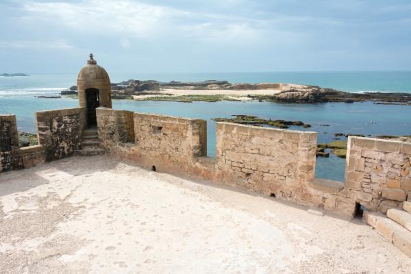 Essaouira - Turm im Hafen
