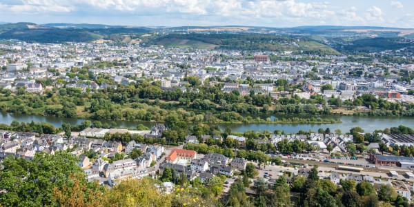 Panoramabild - Blick auf Trier