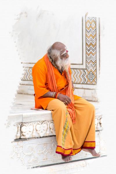 Alter indischer Mann