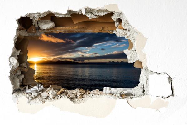 Wandtattoo - Sonnenuntergang in Zivogosce