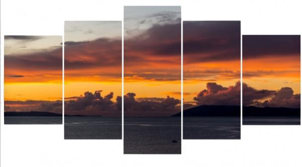 Mehrteiler - Sonnenuntergang in Zivogosce