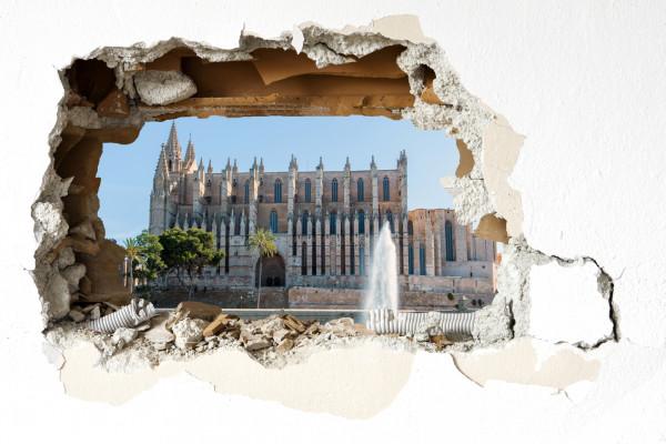 Wandtattoo - Kathedrale Palma de Mallorca