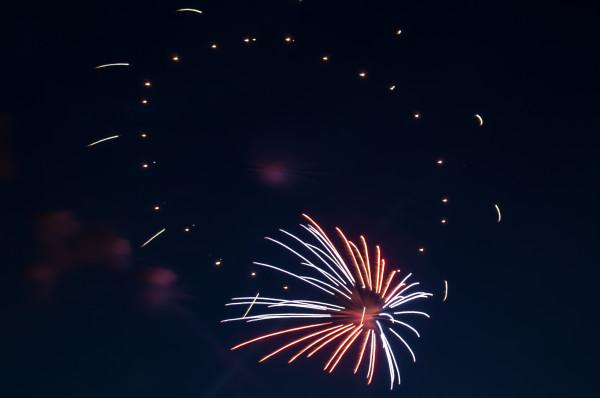 Japanisches Feuerwerk in Düsseldorf-78