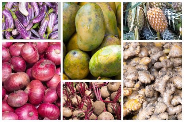 Auf dem Markt auf Sri Lanka