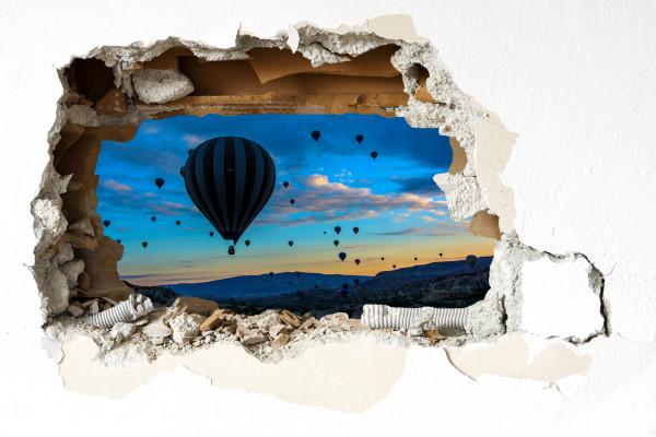 Wandtattoo - Ballonfahrt Kapadokien