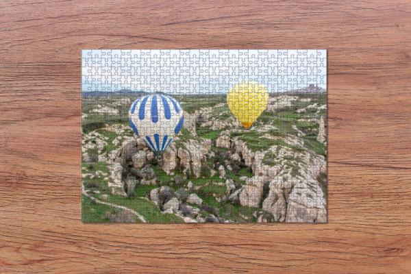 Fotopuzzle - Ballonfahrt in Kapadokien