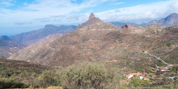 Panoramabild - Poco de las Nives auf Gran Canria