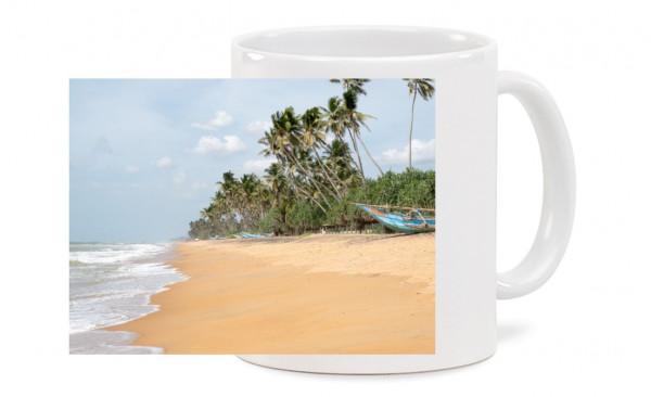 Fototasse - Strand auf Sri Lanka