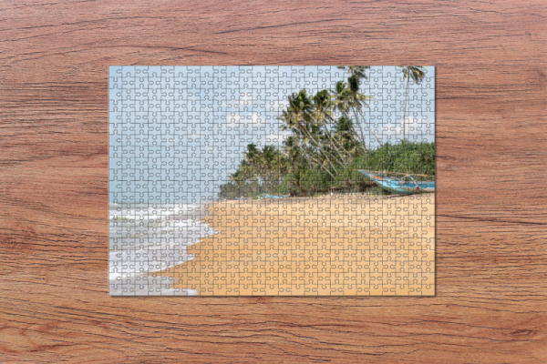 Fotopuzzle - Strand auf Sri Lanka