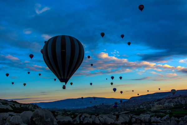 Ballonfahrt in Kapadokien