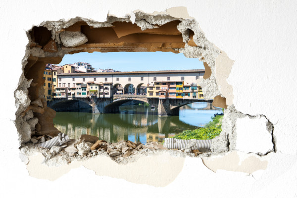 Wandtattoo - Ponte Vecchio