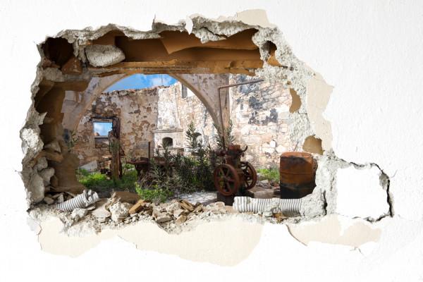 Wandtattoo - Lost Place Fiti Village