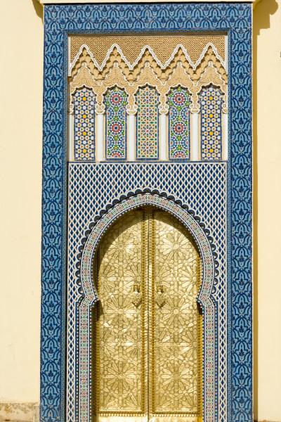 Fes - Tor vom Königspalast