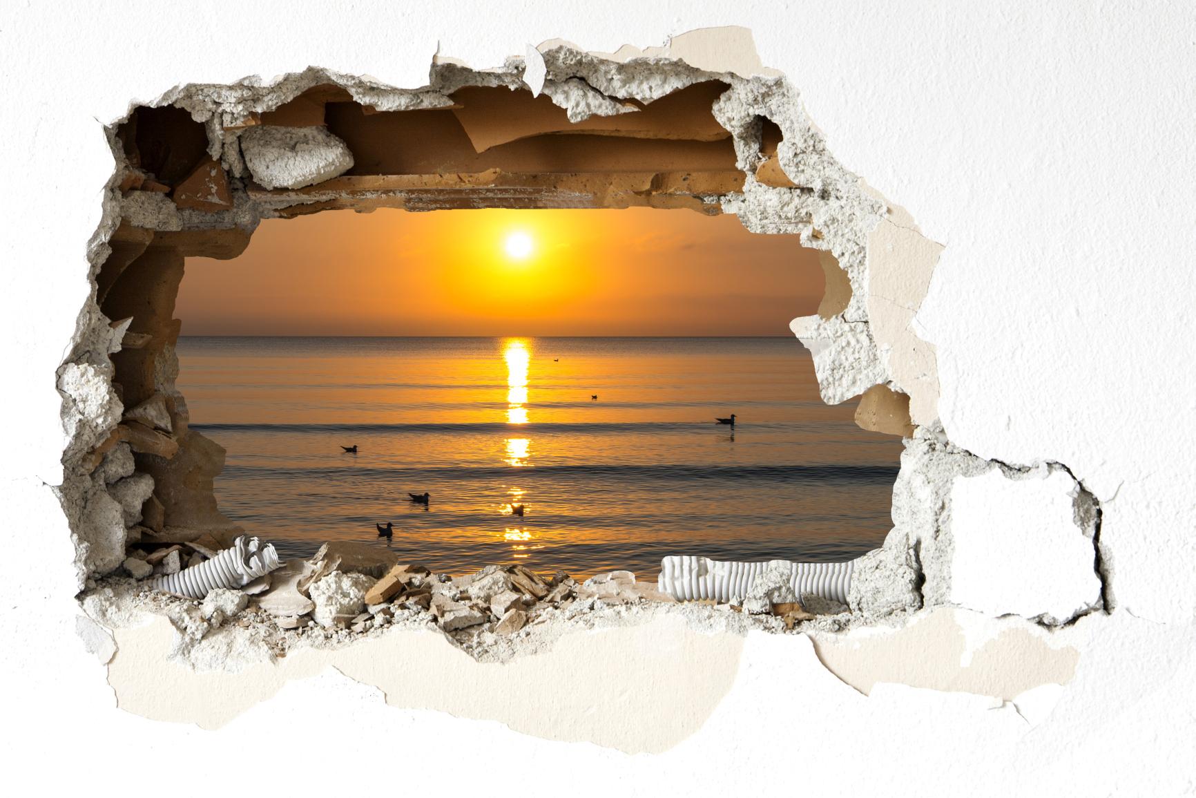 Wandtatoo-Sonnenuntergang-Juliusruh