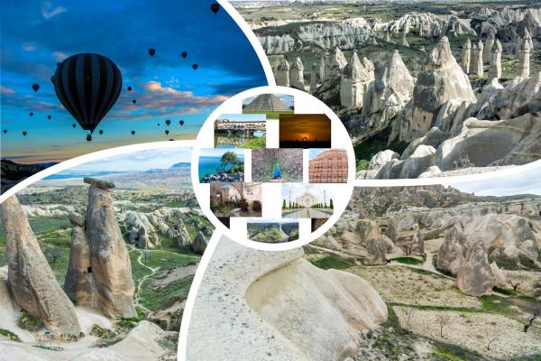 Bilderserie Türkeirundreise Kapadokien