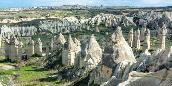 Panoramabild - Tal der Liebe in Kapadokien