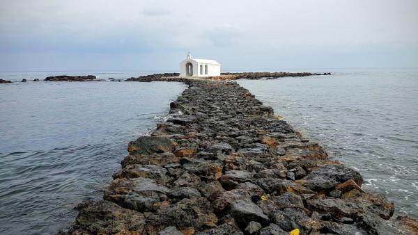 Kleine Kapelle in Georgioupoli auf Kreta