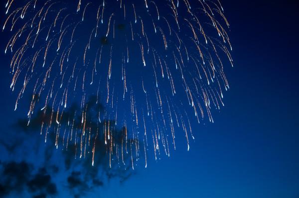 Japanisches Feuerwerk in Düsseldorf-8