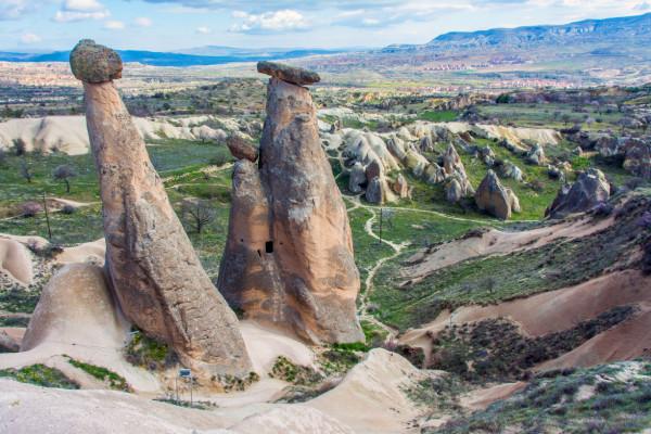 Feenkamine in Kapadokien