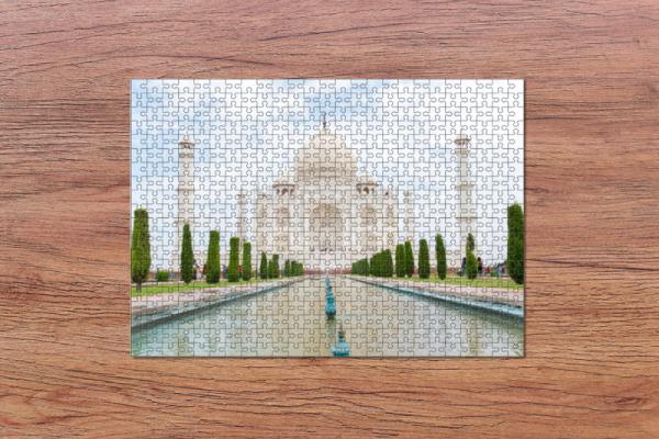 Fotopuzzle - Taj Mahal