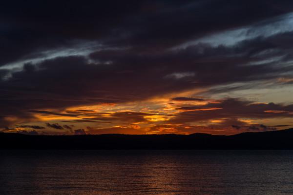 Sonnenuntergang in Zivogosce