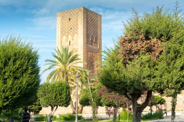 Rabat - Unfertige Moschee