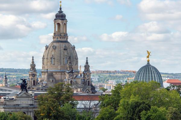 Dresdener Kuppeln