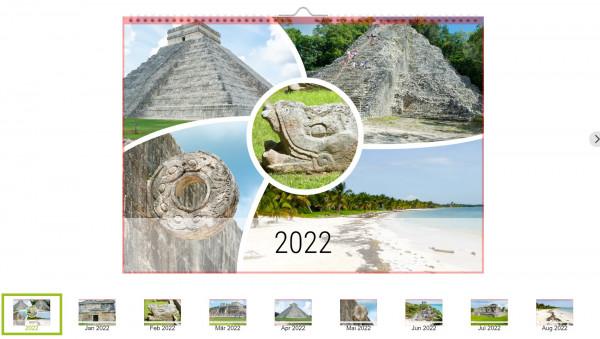 Foto-Kalender Mexico