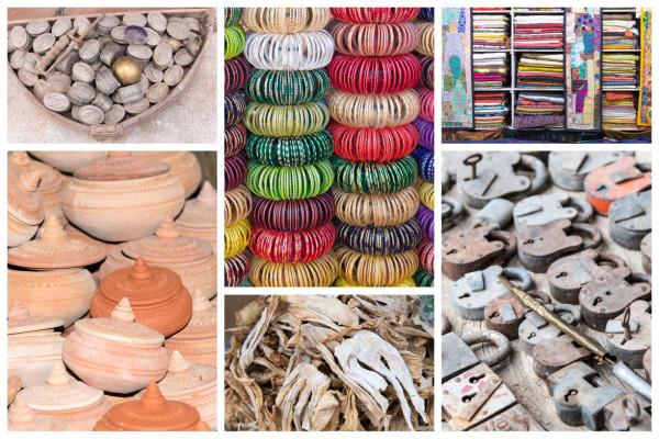 Collage Indische Fundsachen